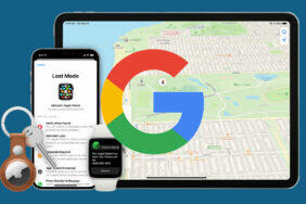 google najdi moje zařízení apple