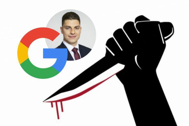 Google vyhledávání vrah chyba
