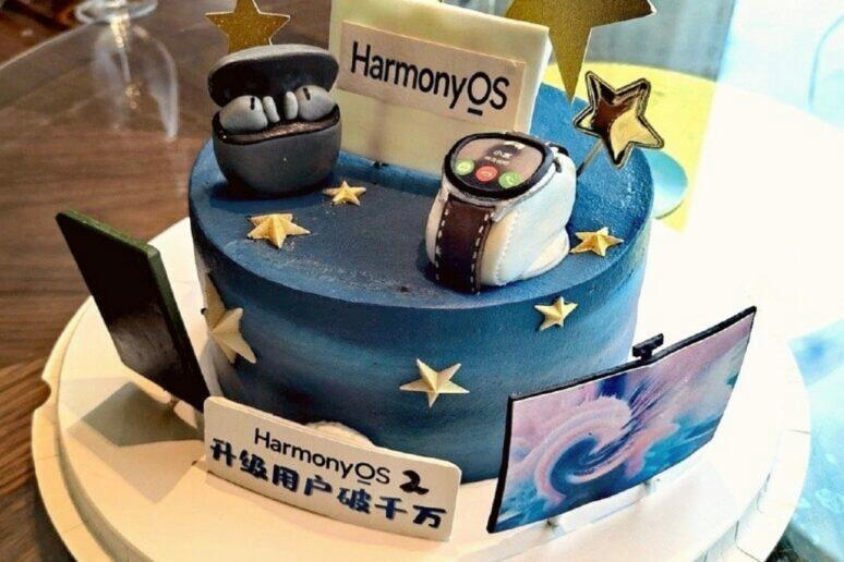 HarmonyOS 10 milionů instalací