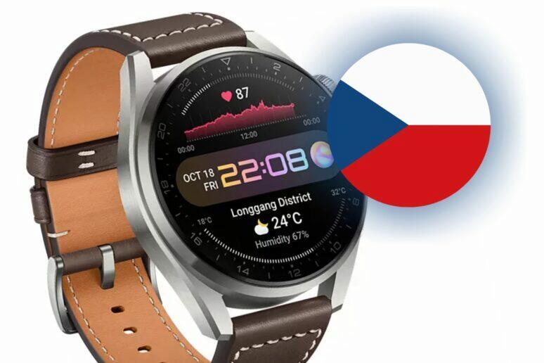 Huawei Watch 3 předprodej ČR česká cena