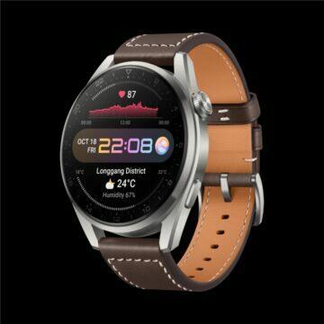 Huawei Watch 3 Pro Classic bok