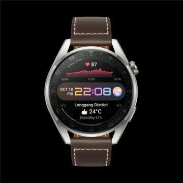 Huawei Watch 3 Pro Classic čelo