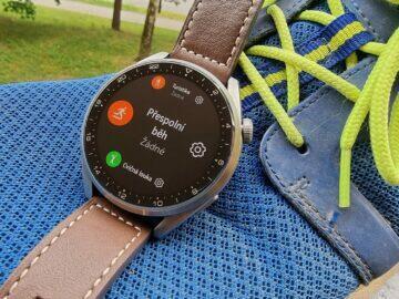Huawei Watch 3 Pro sport běh