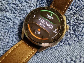 Huawei Watch 3 Pro sport plavání 5ATM