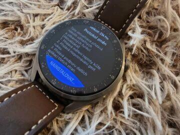 Huawei Watch 3 Pro update změny