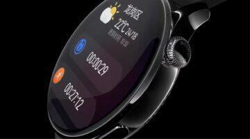 Huawei Watch 3 specifikace cena horní tlačítko design