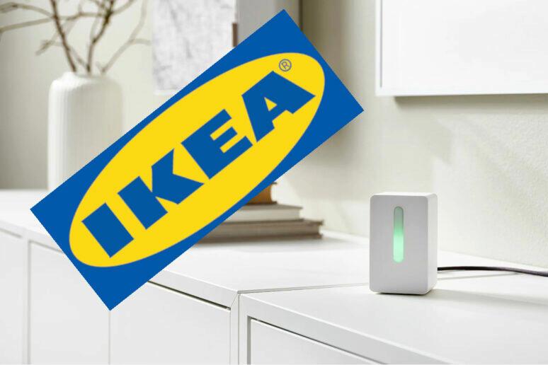 IKEA senzor kvality ovzduší chytrá domácnost smart home
