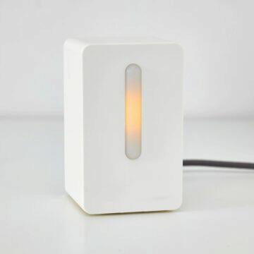 IKEA senzor kvality ovzduší chytrá domácnost smart home oranžová