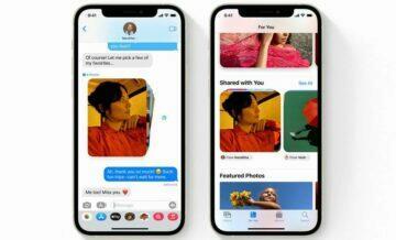 iOS 15 od Applu Facebook iMessage iPhone Facetime SharePlay Mark Zusckerberg sdílení obrázků
