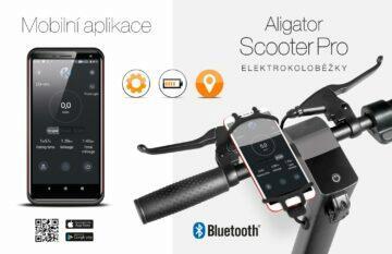 koloběžka Aligator Scooter Pro aplikace