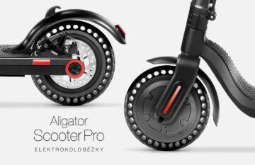 koloběžka Aligator Scooter Pro kola