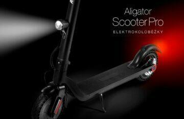 koloběžka Aligator Scooter Pro LED