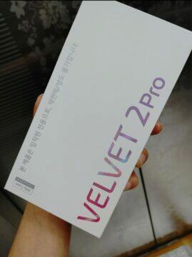 LG Velvet 2 Pro telefon