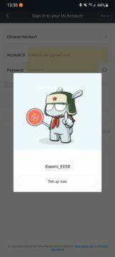 Mi WiFi app 1 nalezení routeru