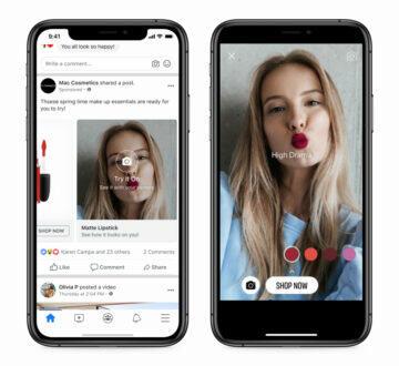 Nakupování přes WhatsApp či Instagram Facebook Facebook marketplace sociální sítě AR