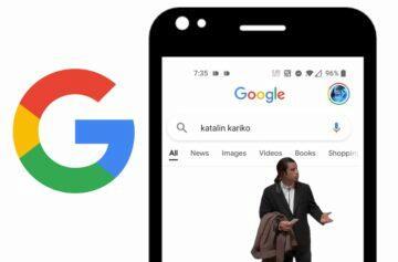 nefunguje Google vyhledávání