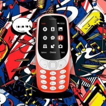 Nokia 3310 2017 barvy
