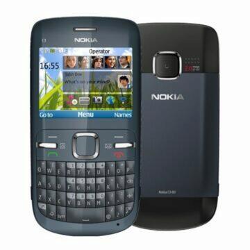 Nokia C3 záda