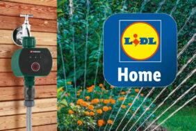PARKSIDE Zigbee zavlažovací počítač Lidl smart home chytrá domácnost zavlažování