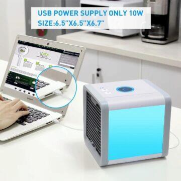 Přenosný mini osvěžovač vzduchu velikost
