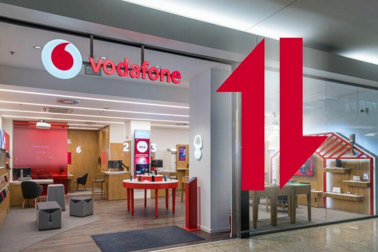 Připojení na měsíc Vodafone 1 GB