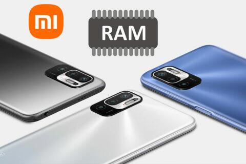 Redmi Note 10 Pro 5G přidat 2 GB virtuální RAM