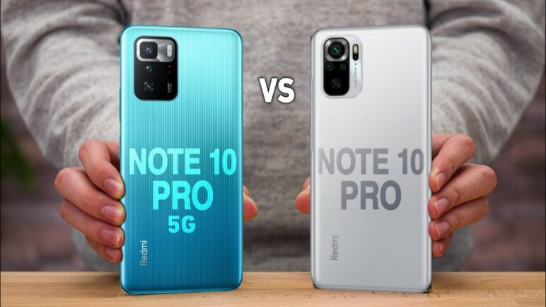 Redmi Note 10 Pro 5G VS Redmi Note 10 Pro
