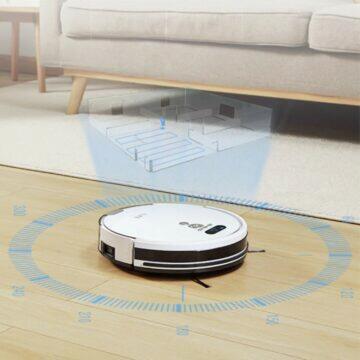 Robotický vysavač ILIFE V8 Plus skenování