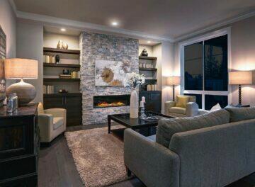 Sada chytrých bodových světel Livarnolux Zigbee 3.0 Smart Home Lidl příklad využítí obyývací pokoj