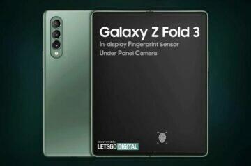 samsung galaxy z fold 3 levnější