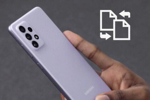 Samsung MTA přenos souborů Quick Share