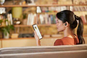 Sluchátka Sony WF-1000XM4 aplikace