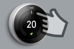 Společnosti mění teplotu na chytrých termostatech Texas USA