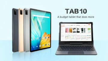 tablet Blackview Tab 10 keyboard