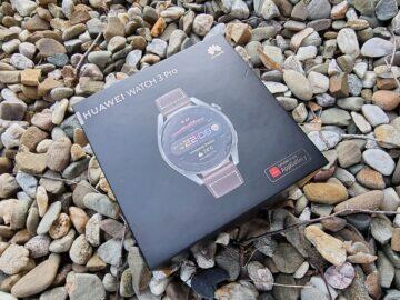 testování Huawei Watch 3 Pro balení