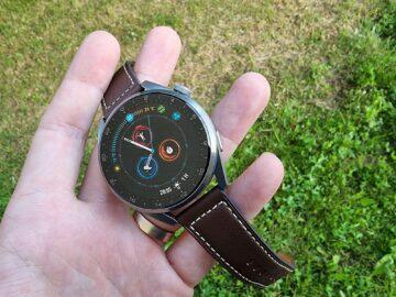 testování Huawei Watch 3 Pro displej řemínek