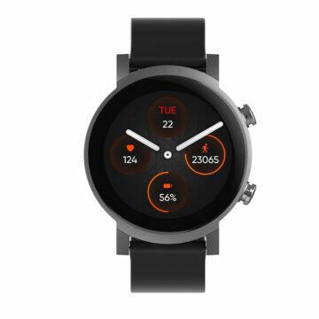 ticwatch e3 black