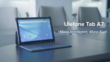UleFone tablet Tab A7 design