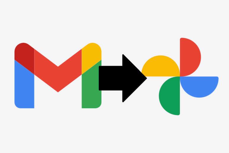Uložení fotek z Gmailu Fotky Google synchronizace