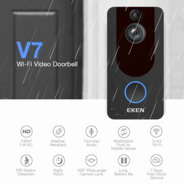 Videozvonek EKEN V7 parametry