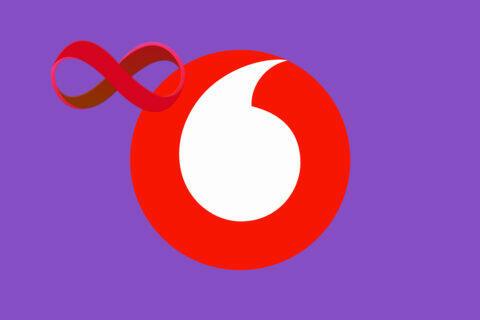 Vodafone nejlevnější tarify s neomezenými daty