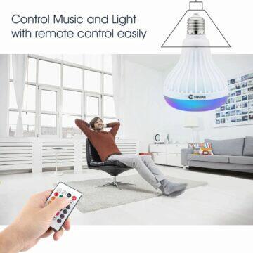 VONTAR žárovka s reproduktorem ovládání