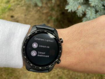výdrž baterie chytré hodinky