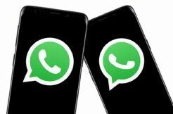 WhatsApp na dvou mobilech omezení