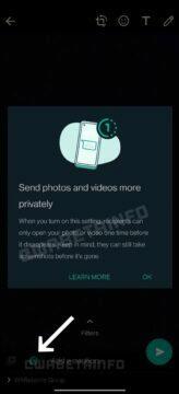 WhatsApp účet na více zařízeních Zuckerberg soukromí automatické mizení obrázků a videí