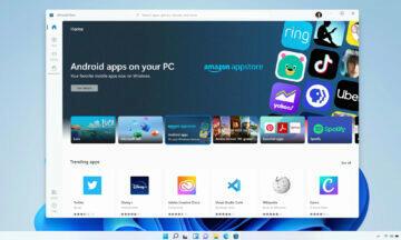 Windows 11 Android aplikace Intel Bridge Amazon Appstore