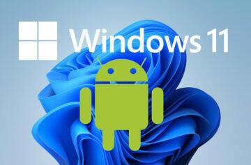 Windows 11 umožní spustit Android aplikace Windows 10 Microsoft Spotify TikTok amazon appstore