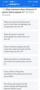 Xiaomi a POCO telefony zhasínání displeje proximity senzor dotazník kdy se to stává
