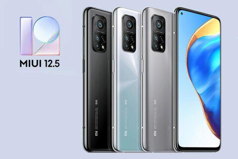 Xiaomi Mi 10T MIUI 12.5
