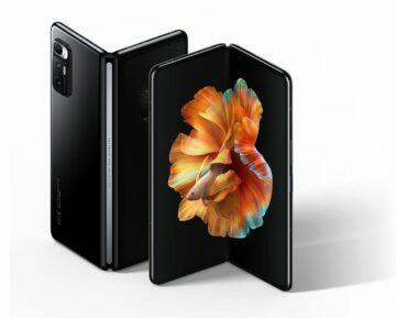 Xiaomi Mi MIX Fold2 ohebné telefony 120 Hz